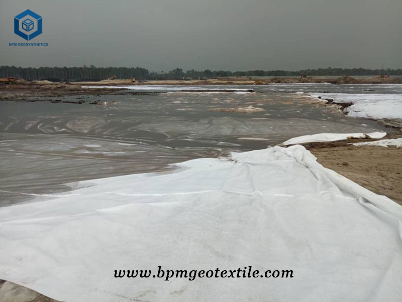 Non Woven Geotextile Reinforcement for Seaside Soil-fabric System in Australia