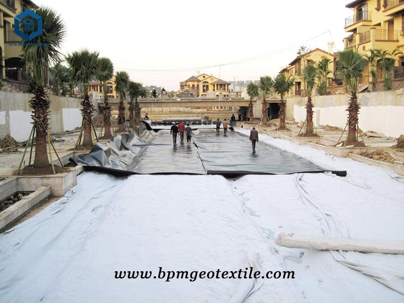 Nonwoven Needle Punched Geotextile for Nepal Building Material