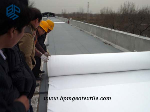 Filament Polyester Geotextile for Road Construction in Thailand