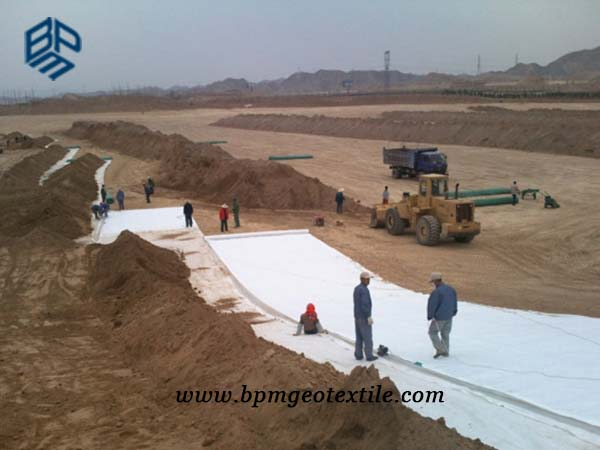 Filament Polyester Non Woven Geotextile for Road Construction in Thailand