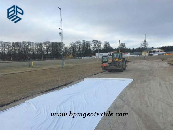 Non Woven Geotextile Cloth for Road Construction in Australia