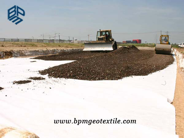 PET Geotextile Non Woven Cloth for Road Construction in Australia