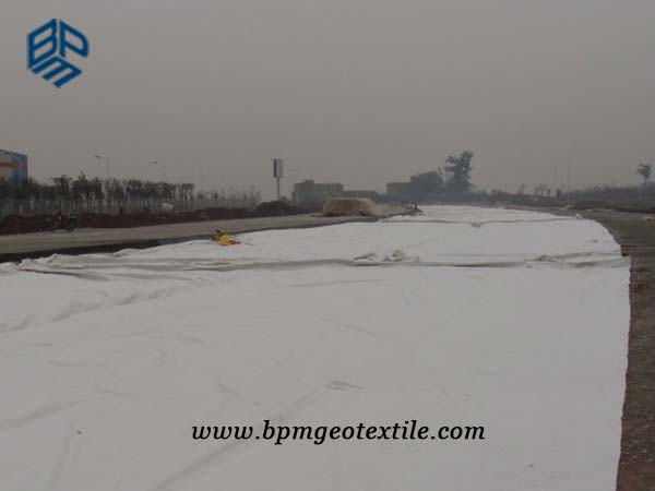 Polyester Filament Geotextile for Road Construction in Thailand