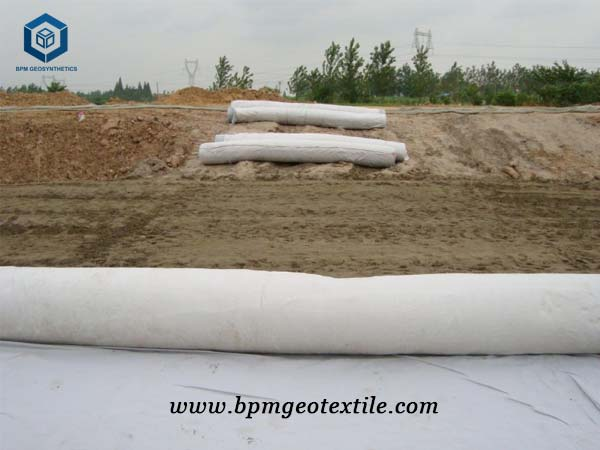Non woven geotechnical fabric for Road roadbed Reinforcement in Australia