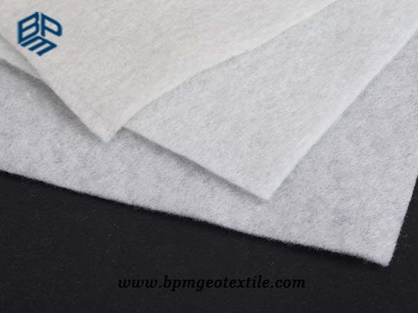 Staple Fiber Geotextile for slope stability in India