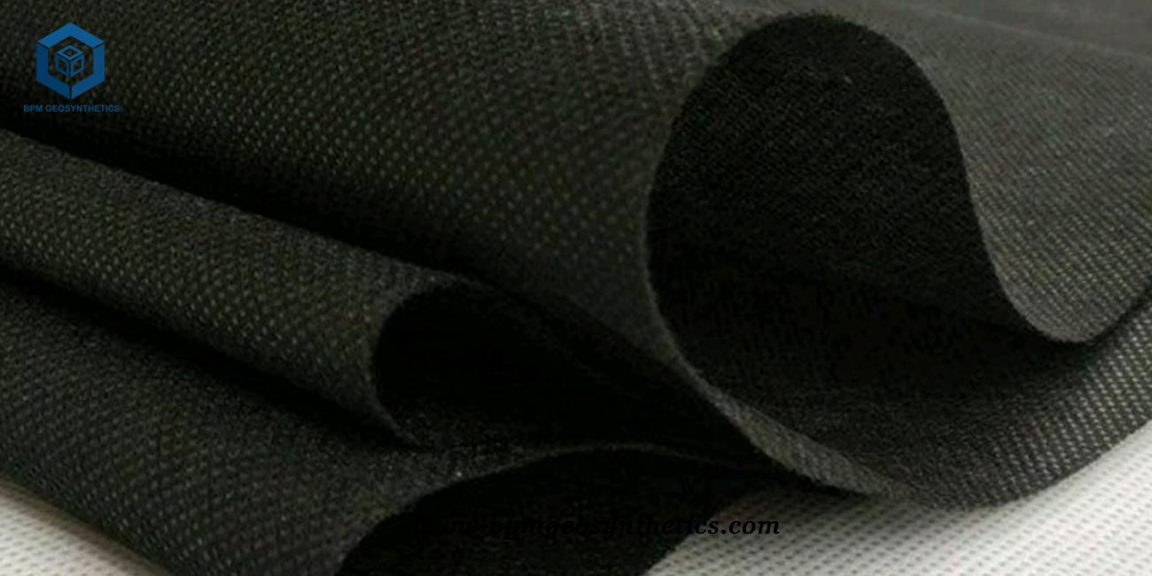 PET Geotextile Woven Fabric for Highway in Indonesia