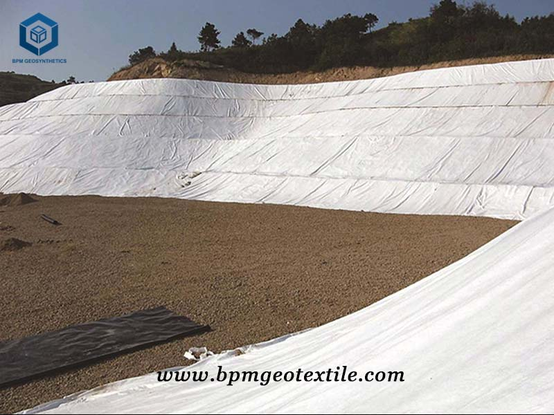 Film Geotextile for Embankment Project in Myanmar
